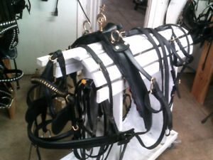 HORSE/ Lt DRAFT LEATHER HARNESS
