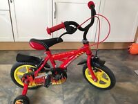 Kids bicycle with training wheels 12''