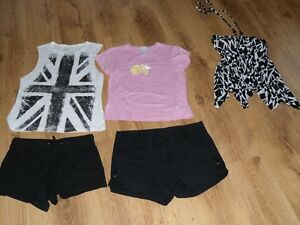 Shorts et tops