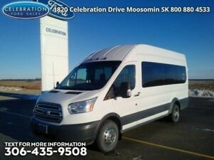 """2016 Ford Transit Wagon T-350 148"""" High Roof XLT  LOW MILEAGE!"""
