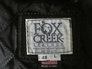 Classic Motorcycle Jacket Prince George British Columbia image 3