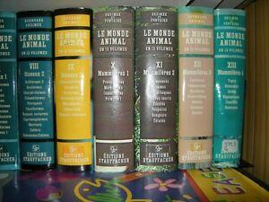 Le Monde animal en 13 volumes : Encyclopédie de la vie des bêtes West Island Greater Montréal image 3
