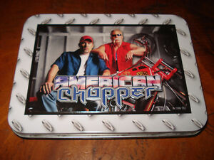 American Chopper Collectible Tin w/ Playing Cards