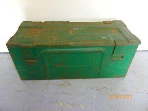 boite metal coffre 19 pouces par 8 pouces par 8 de hauteur