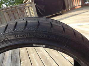 Continental Contisport Contact 3 - 1 Tire 255/35/ZR19 West Island Greater Montréal image 4