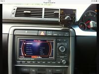 Genuine Audi A4 Rs4 B6 B7 Rns Navigation Plus System Sat Nav Mmi Gps MP3 Cd Play