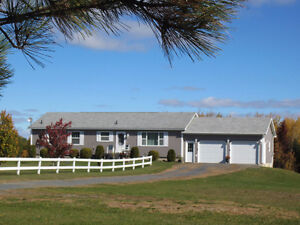 Hobby Farm - lovely 8 year old home on 85 acres with small barns
