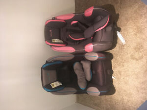 Safety 1st Car Seats (pink and blue)