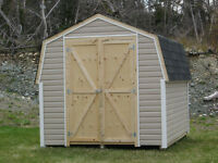 new 8X8 SHED