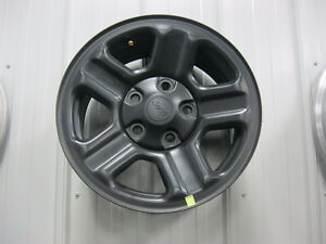jeep wrangler black rims