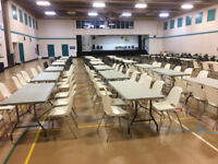 Affordable Tables & Chairs to Rent   for your Class or Event