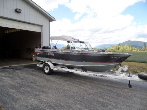 Used 1991 Lund Boat Co Tyee 185