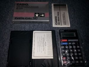 Vintage Casio Data-Cal 50 DC-150A calculator (new in box)