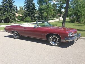1973 Buick Centurion 455 Conv - Mint 50,000 kms Price Reduced
