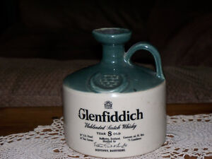 ANTIQUE GLAZED STONEWARE WHISKEY JUG (SCOTLAND) Kawartha Lakes Peterborough Area image 1