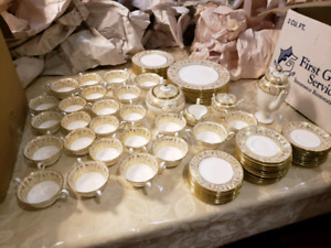 Wedgwood Fine Bone China - Svc for 12