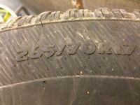 165/70/17 tires