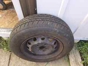 Toyota Corolla all season tires 95% ripe for sell