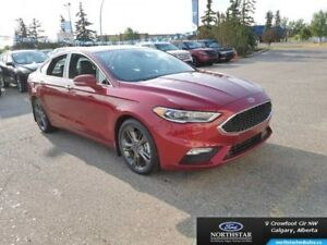 2017 Ford Fusion Sport  - Leather Seats -  Bluetooth -  Navigati