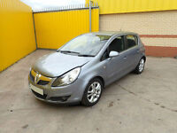 2007 VAUXHALL CORSA 1.2 PETROL 5 SPEED MAN