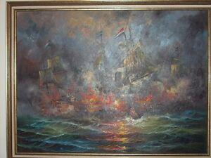 Iceland Vs Netherlands ? Painting