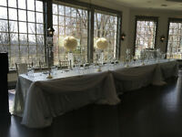 FLAT RATE for Full Wedding/Any Event Set-up - WE OWN ALL DECOR