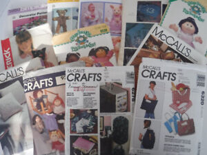 CRAFT SEWING PATTERNS CABBAGE PATCH DOLLS QUILTS TOTES