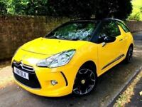 **BARGAIN** 2011 CITROEN DS3 D SPORT 1.6 PETROL YELLOW BLACK MANUAL 3 DOOR