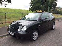 2005 VW VOLKSWAGEN POLO TWIST 1.4 PETROL, AUTO, 3-DOOR***LONG MOT***GENUINE LOW 35,000 MILES ONLY!!!
