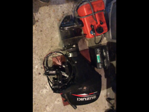 For Sale -  2014 Suzuki 9.9 electric start outboard motor