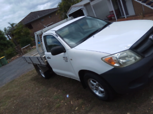 2006 hilux ute 2wd Manual low kilometers