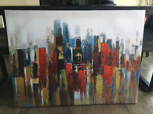 Art - canvas picture - like new condition