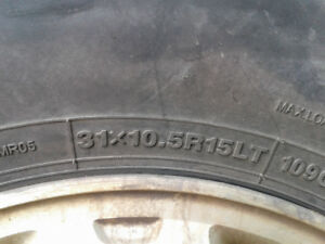 Toyota truck tires and rims