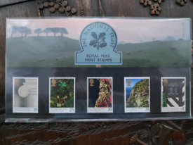 1995 The National Trust Presentation Pack - Royal Mail stamps