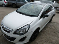 Vauxhall Corsa 1.3CDTi 16v ecoFLEX Limited Edition DAMAGED REPAIRABLE SALVAGE