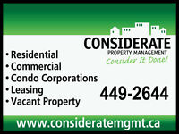 Considerate Property Management- Consider Us!