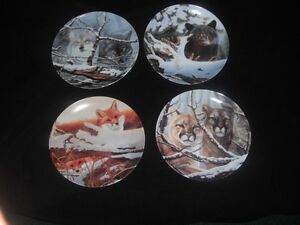 Eyes of the Wild - Bradex Plates - Excellent Condition Kingston Kingston Area image 1