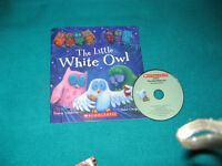 Primary Reading Book The Little White Owl