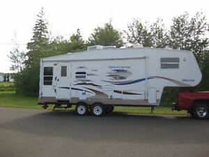2006 copper canyon 5th wheel camper