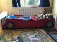 Kids car bed frame