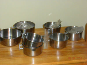 Stainless Steel Food  Dishes London Ontario image 1