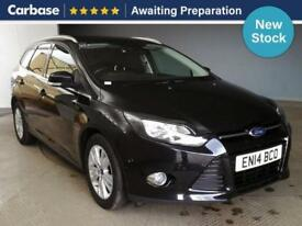 2014 FORD FOCUS 1.6 TDCi 115 Titanium Navigator 5dr Estate