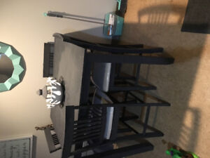 4 piece highly top kitchen table