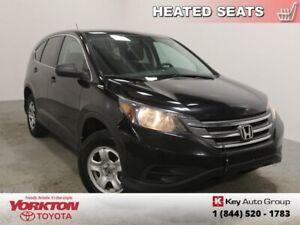 2014 Honda CR-V LX   - Bluetooth -  Heated Seats - $110.68 B/W
