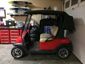 Custom 2012 Club Car Precedent - Electric Golf Cart