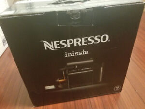 Brand New In Box! Nespresso Inissia Small Coffee Espresso Maker