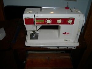 ELNA  500 JUBILEE  Electronic  Sewing   Machine & Table