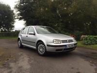 Volkswagen Golf 1.4 2002MY cheap insurance group silver 5 door hatchback