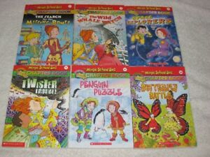 THE MAGIC SCHOOLBUS - CHAPTERBOOKS - CHECK IT OUT!