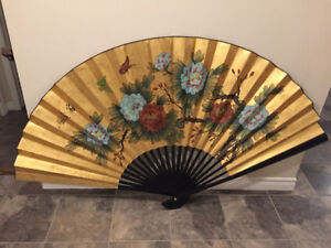 Large Oriental Art - Wall Fan